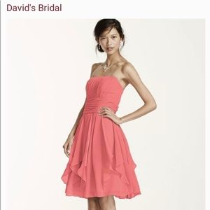 Women's David's Bridal Bridesmaids Dress